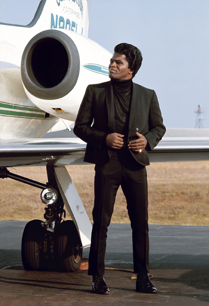James Brown by Jean-Marie Perier