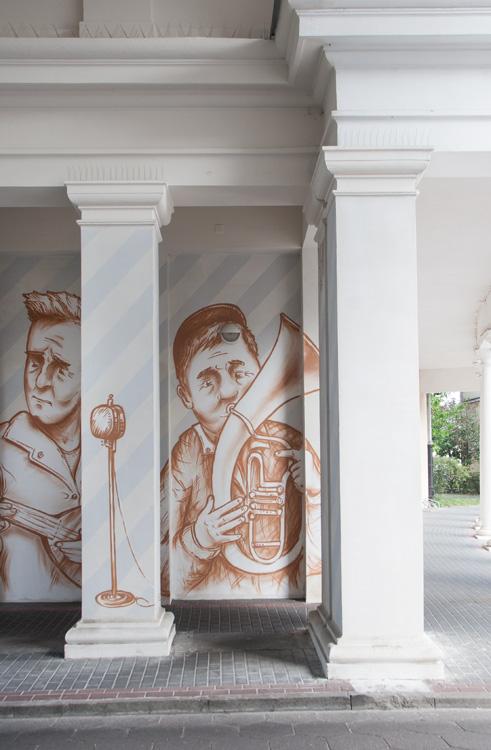 Mural-musicans