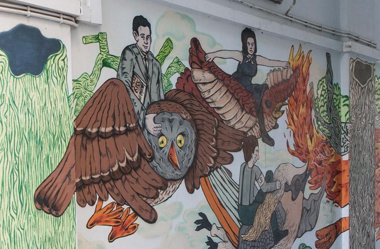Mural-solidarnosci