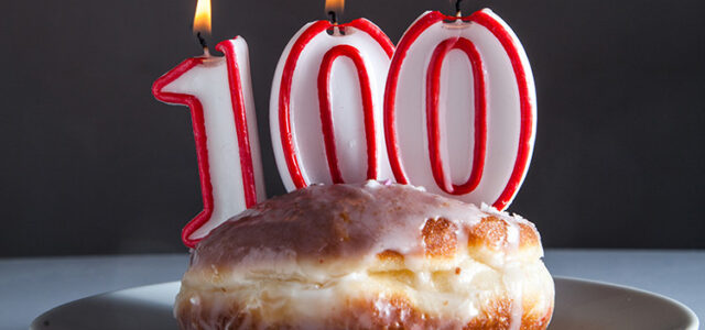 One hundred Years Of Food & Drink