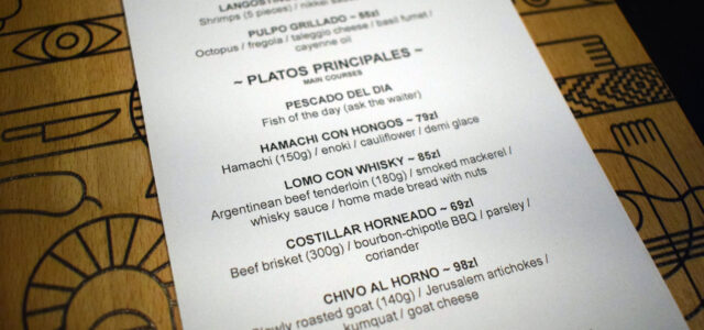 Notes: Ceviche Bar