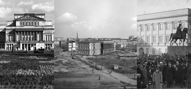 Trading Places: Warsaw's Moving Landmarks
