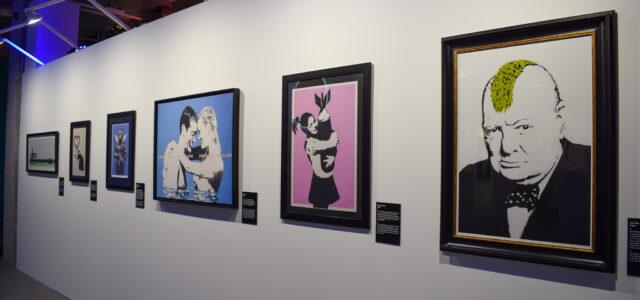 Inside Banksy's Exhibition!