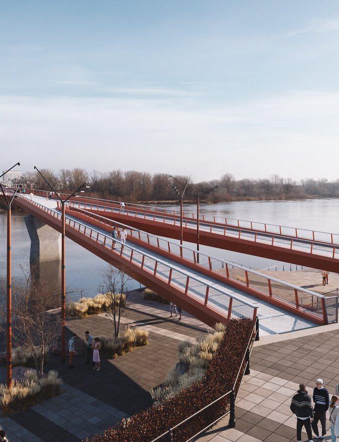 New Bike Bridge One Step Closer