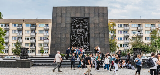 Back Story: Monument to the Ghetto Heroes