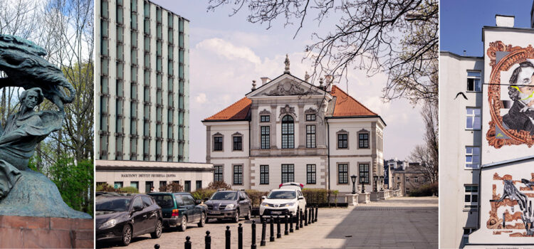 Explore the Warsaw of Frederic Chopin