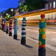 Praga Gets Yarn Bombed!